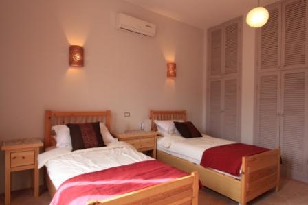 image of garden apartment bedroom