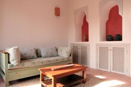 Image of living room in Villa Arabesque