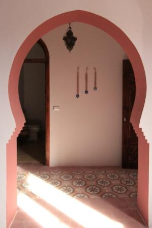 photo of archway