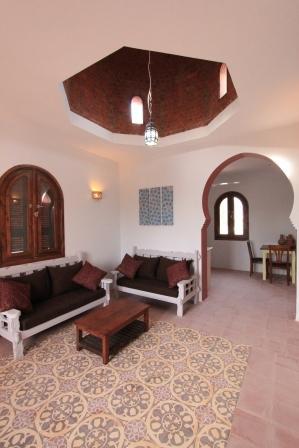 photo of living room in terrace Terrace Apartment Arabesque