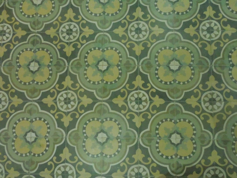 Handmade Islamic tiles