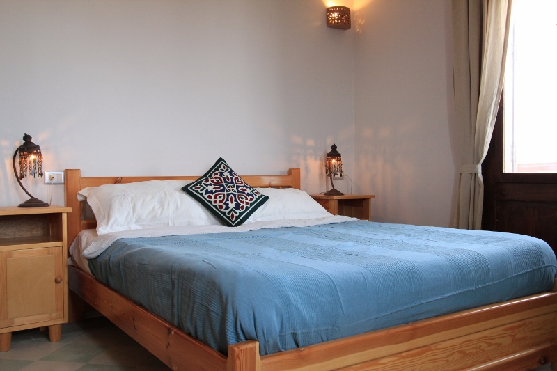 image of double bed