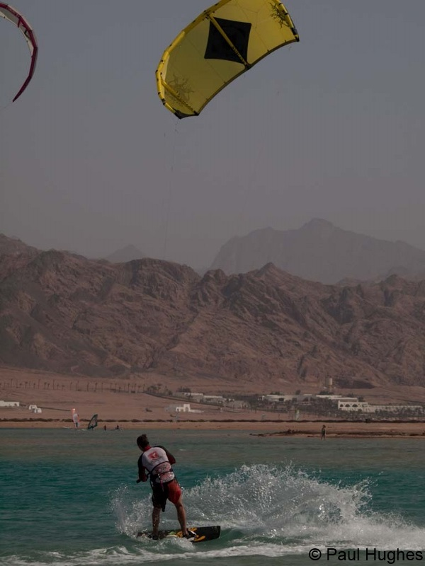 Image of kitesurfer