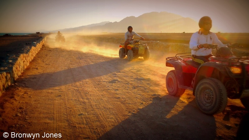 image of quad biking
